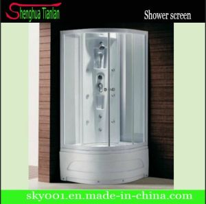 High Tray Wet Room Frosted Glass Shower Bathroom (TL-8835) pictures & photos