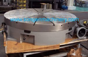 Diameters 1000-2500mm Manual Rotary Tables pictures & photos