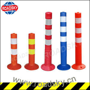 Road Security Flexible Car Parking Post Traffic Safety Bollard pictures & photos