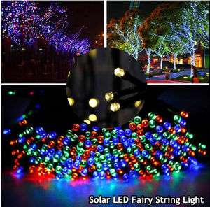 Christmas and Wedding Decoration Solar Fairy String Light with Solar Panel pictures & photos