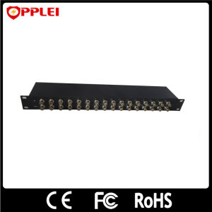 Rack Mount Ahd/Cvi 16 Channels CCTV BNC Coaxial Video Surge Protector pictures & photos