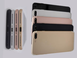 2017 Unlocked Goophone I7 Plus Metal Body Cell Phone Dual Camera 1GB RAM 8GB ROM Mtk 6580 Android 6.0 GPS WiFi Smartphone with Fingerprint pictures & photos