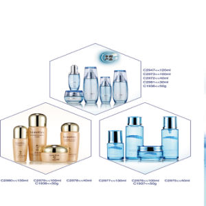 30g/40g/50g/100ml/120ml Glass Jar & Jars Bottles for Skin Bleaching Cream pictures & photos