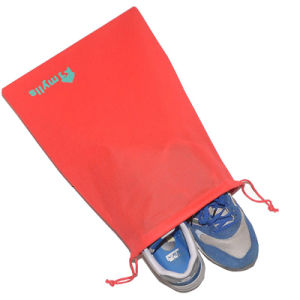 Multiple Color Promotional Gymsack Sport Drawstring Shoes Dust Bag pictures & photos