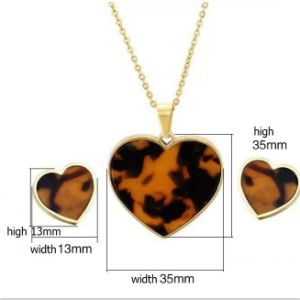 Fashion Jewelry Sets, Stainless Steel Jewelry Care Jewelry Set (hdx1127) pictures & photos