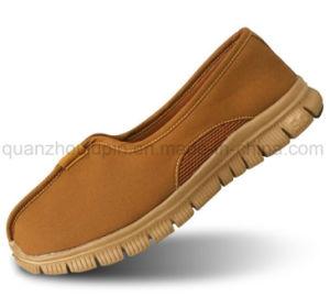OEM Breathable EVA Cotton Soft Buddhist Monk Shoes pictures & photos