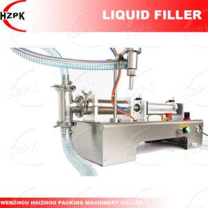 Single Head Liquid Filler/Water Filling Machine/Liquid Filling Machine pictures & photos