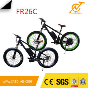 48V 750W Rear Motor 26*4.0 Fat Ebike pictures & photos