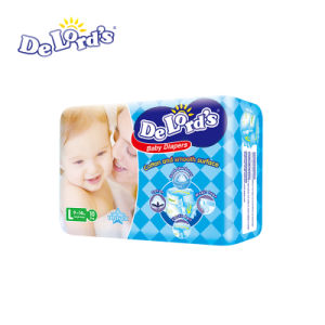 High Quality Baby Diapers with Leak Cuffs Super Absorption Factory Supplying pictures & photos