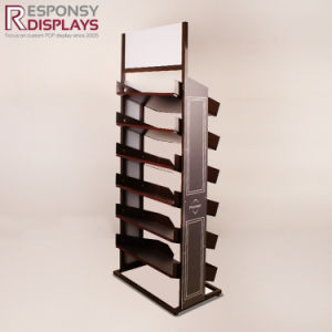 Quality Pop Metal Standing Brown Chocalate or Food Display Shelves pictures & photos