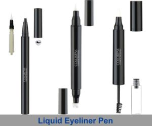 Double Head Liquid Eyeliner Pencial and Brush Waterproof Packaging pictures & photos