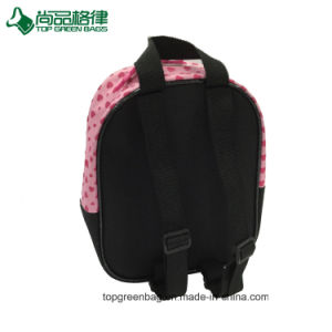 Cut Cartoon Pink Backpack School Bag for Little Girl pictures & photos