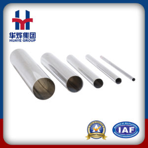 Polished Stainless Steel Pipe for Decoration and Construction pictures & photos