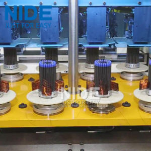 Eight Working Station Induction Motor Stator Coil Winding Machine pictures & photos