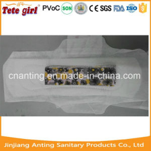 Female Cotton Breathable Anion Sanitary Napkins / Sanitary Pads for Women pictures & photos