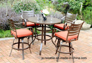 5PC Classic High Dining Cast Aluminum Garden Furniture pictures & photos