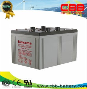 2V 2000ah Solar Gel Power Storage Battery for Solar Systems Nps2000-2 pictures & photos