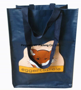 Large Matt Laminated Eco PP Woven Shopping Bag for Promotion pictures & photos