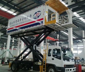 Aircraft Airport Catering Truck with Refrigerated Box pictures & photos