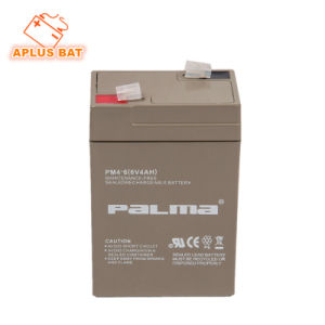 Best Choice Emergency Power Battery 6V 4ah for UPS System pictures & photos
