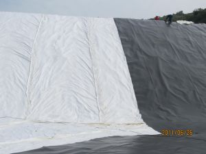 Drainage Filter Fabric Geotextile 300GSM Non Woven Geotextile Price pictures & photos