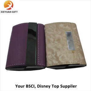 Making Promotional Leather ID Card Holder/Name Card Holder pictures & photos