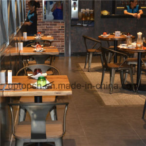 Factory Retro Bistro Reataurant Furniture Set Tables and Chairs (SP-CS328) pictures & photos
