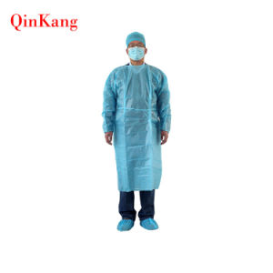 Disposable SMS Nonwoven Sterile Hospital Isolation Apron/Gown