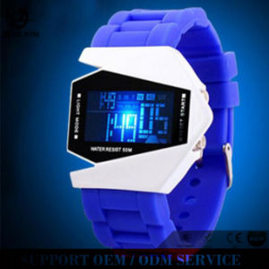 Yxl-153 Wholesale Silicone Many Colors to Chooze Airplane LED Watches pictures & photos