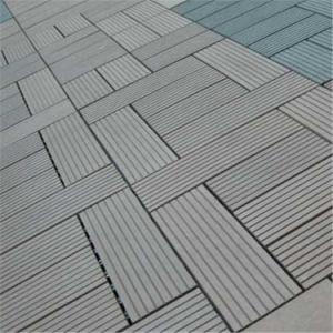 Eco-Friendly Wood Plastic Composite (WPC) Decking Tile (30S30-5) pictures & photos