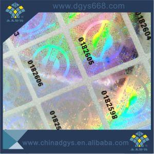 Custom Design Qr Code Hologram Void Laser Sticker pictures & photos