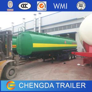 3 Axles 45cbm Liquid Goods Oil Tanker Semi Trailer pictures & photos