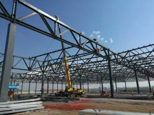Easy Installation Industrial Low Cost Steel Structure Warehouse pictures & photos