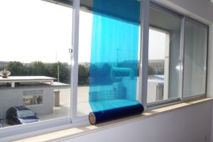 PE Transparent Color Window Glass Protective Film pictures & photos