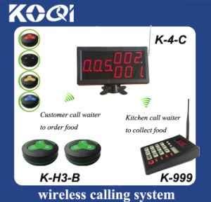 Kitchen Wireless Service Calling System for Restaurant pictures & photos