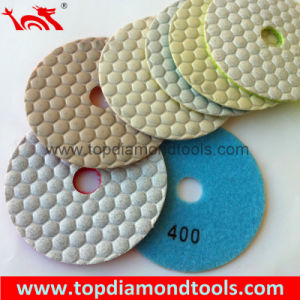 Angle Grinder Polishing Pads with Dry Polishing pictures & photos