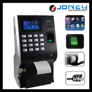 3 Inches TFT Screen Biometric Fingerprint Terminal Time Attendance with Thermal Printer Lp400 pictures & photos
