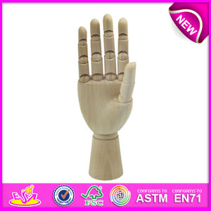 Best Selling Manikin Wood Hand, Flexible Wooden Manikin Hands for Sale, Manikin Flexible Wooden Mannequin Hand W06D042-B pictures & photos