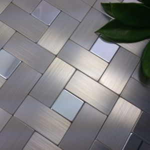 Floor Stainless Steel Mosaic Mosaic Tiles pictures & photos