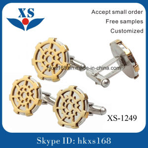 New Custom Fashion Metal Blank Cufflinks pictures & photos