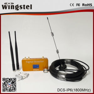 Lte 4G Small Size 1800MHz Mobile Signal Repeater with Antenna pictures & photos