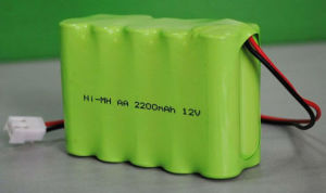 12V 2200mAh Ni-MH AA Battery Pack pictures & photos