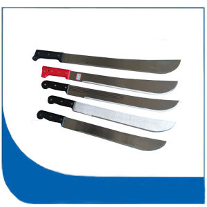 Hot Sale Steel Farming Knife with Plastic Handle pictures & photos