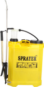 16L PP Material Knapsack Hand Sprayer / Manual Sprayer pictures & photos