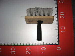 Plasic Handle Wall Brush with PBT Filamets Material pictures & photos