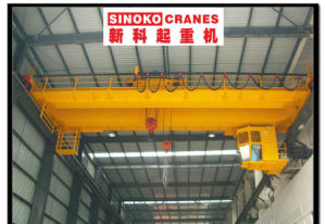 Yz Type Double Beam Casting/Foundry Eot Crane with Electric Hoist Lifting Machinery for Steel Mill pictures & photos