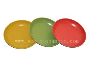 Bamboo Fiber Tableware Plate (BC-P2024) pictures & photos