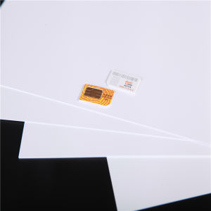 Heat Resistance White Rigid ABS Core Sheet for SIM Card pictures & photos