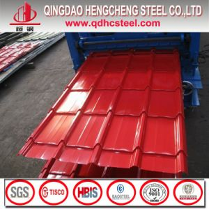 Prepainted Cold Rolled Color Coated Roofing Steel Sheet pictures & photos