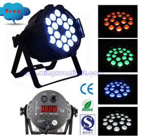 18*10W Rgbwauv LED DMX 6 in 1 Pars (YS-108) pictures & photos